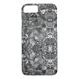 quartz noir et blanc abstrait coque iPhone 7