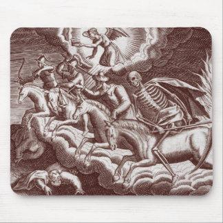 Quatre cavaliers de l'apocalypse Mousepad Tapis De Souris
