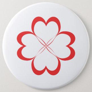 Quatre coeurs ! badges