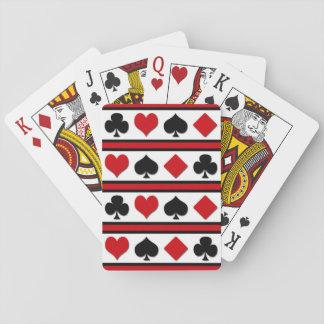 Quatre costumes de carte cartes à jouer