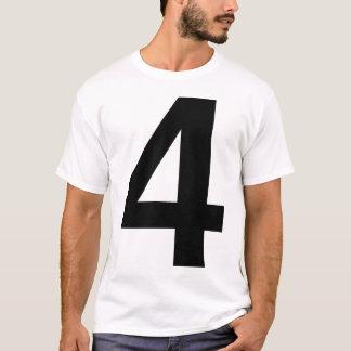Quatre helvetica t-shirt