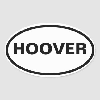 QUATRE Hoover, Alabama Sticker Ovale