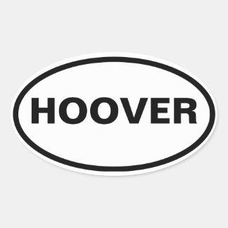 QUATRE Hoover, Alabama Sticker Ovale