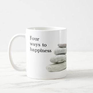 Quatre manières au bonheur mug