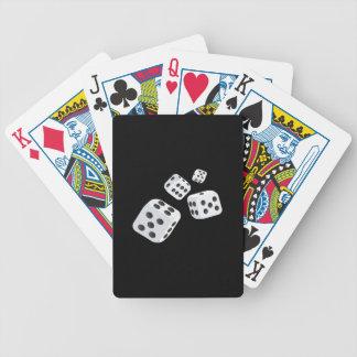 Quatre matrices cartes à jouer