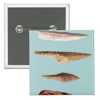 Quatre outils de silex badge