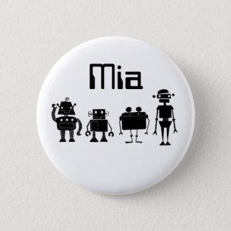 Quatre robots badges