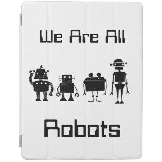 Quatre robots protection iPad