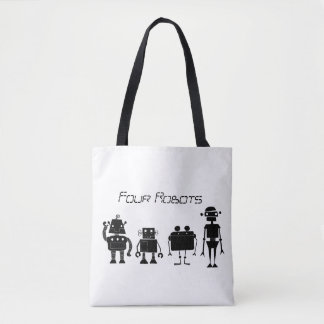 Quatre robots sac