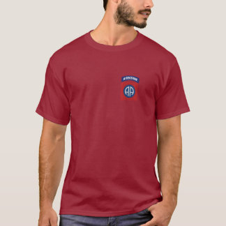 quatre-vingt-deuxième T-shirt aéroporté