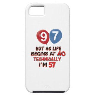 quatre-vingt-dix-septième conceptions coque iPhone 5 Case-Mate