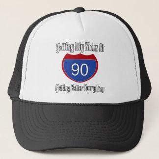 Quatre-vingt-dixième anniversaire de l'itinéraire casquette