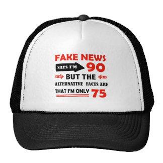 quatre-vingt-dixième cadeaux d'anniversaire an casquette