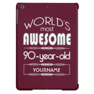 quatre-vingt-dixième D anniversaire des mondes
