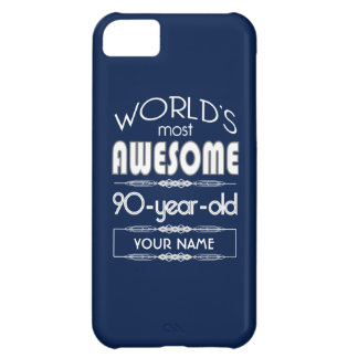 quatre-vingt-dixième D anniversaire des mondes Coques Pour iPhone 5C