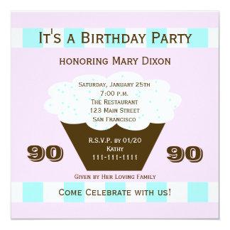Quatre-vingt-dixième invitation de fête