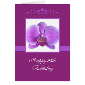 Quatre-vingt-quinzième carte d'anniversaire