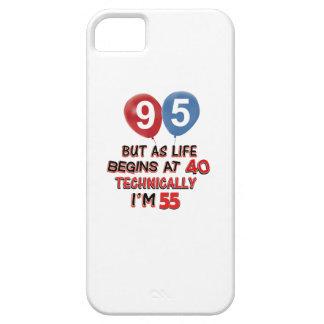 quatre-vingt-quinzième conceptions d'anniversaire coques Case-Mate iPhone 5