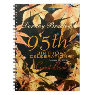 quatre-vingt-quinzième Livre d'invité fait sur Carnets À Spirale