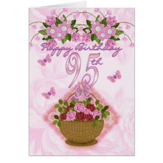 quatre-vingt-quinzième Madame d'anniversaire, Cartes