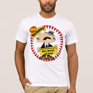 quatre-vingt-quinzième T-shirt de cadeaux