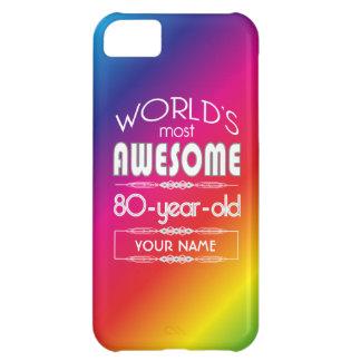 quatre-vingtième Arc-en-ciel fabuleux des mondes Étui iPhone 5C