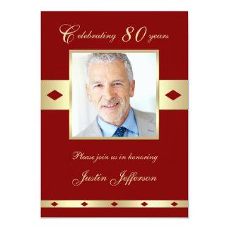 quatre-vingtième Invitation Bourgogne 80 de fête