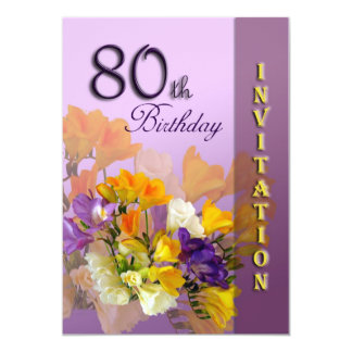 Ideas For 80Th Birthday Invitations for adorable invitation template