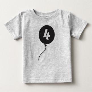 Quatrième chemise d'anniversaire t-shirt pour bébé