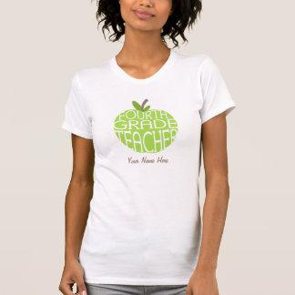 Quatrième T-shirt de professeur de catégorie -