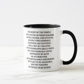 Quatrième texte d'Amendent Mug