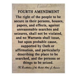 Quatrièmes cartes postales d'amendement
