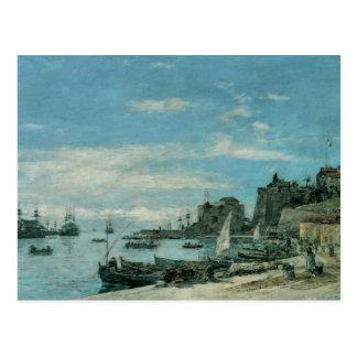 Quay chez Villefranche 1892 Carte Postale