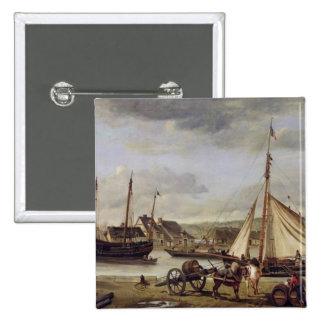 Quay du négociant à Rouen, 1834 Badges