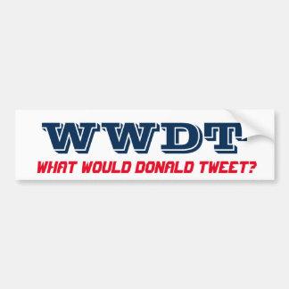 Que bip de Donald ? (bumpersticker) Autocollant De Voiture