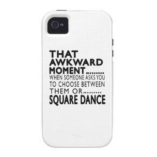 Que la danse carrée de moment maladroit conçoit coques vibe iPhone 4