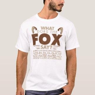 Que le Fox indique-t-il ? T-shirt