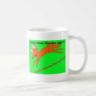 Que le renard fait-il disent-ils ? mug