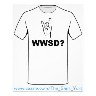 Que Satan ferait-il ?  WWSD ? Prospectus Personnalisés