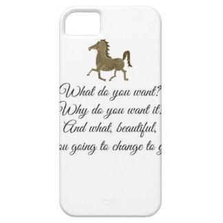 Que voulez-vous la licorne ? coque iPhone 5