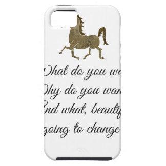 Que voulez-vous la licorne ? coque tough iPhone 5