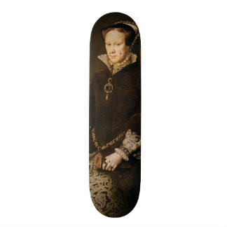 Queen Mary I de l'Angleterre Maria Tudor par MOR d Skateboards Customisés