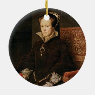 Queen Mary I de l'Angleterre Maria Tudor par MOR Ornement Rond En Céramique