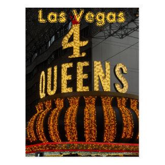 Queens de Las Vegas 4 Carte Postale