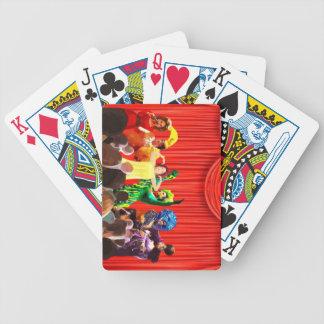 Queens d'entrave jeu de cartes