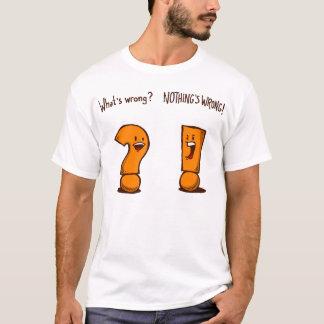 Quel est erroné ? [Chemise d'orange] T-shirt
