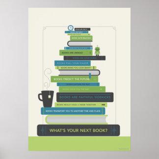 Quel est votre prochain livre ? posters