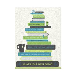 Quel est votre prochain livre ? toiles