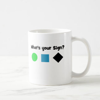Quel est votre signe ? mug