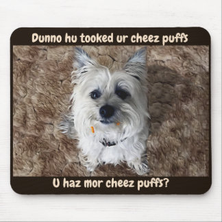 Quel fromage souffle ? Tapis de souris